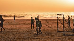Beach Football Morocco