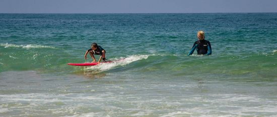 kids surf course children surfing morocco