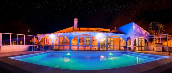Surf Lodge Portugal starry night