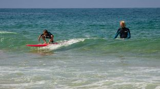 family surf resort morocco