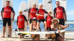 Family Surf Camp Le Pin Sec