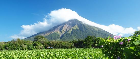 volcano central Nicaragua tropical rain forest