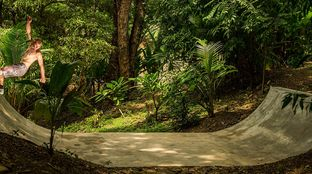 jungle mini ramp Costa Rica surd camp